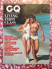 Summer 1976 GQ Magazine FASHION Living First Class ELEGANT CLOTHES Dining