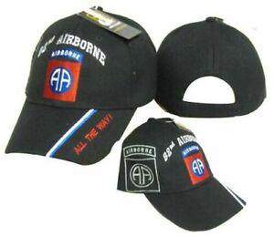 Zdsg US Army Iraq Veteran 82nd Airborne Dad Hat Unisex Cotton Hat Adjustable Baseball Cap