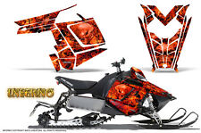 POLARIS RUSH PRO RMK 600/800 SLED SNOWMOBILE GRAPHICS KIT CREATORX INFERNO INFR