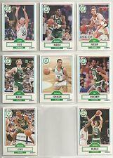 1990-91 Fleer 8-card Boston Celtics Team Set   Larry Bird  Kevin McHale  ++++