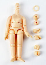"Obitsu 11cm 11BD-D01W-G Child Body White 4.4"" tall for OOAK Child Fashion Doll"