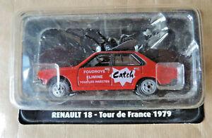 Renault - 18 R18 - Tour de France 1979 - Adv Catch Gauge: 1/43 Collection