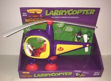 LARRYCOPTER Playset VeggieTales Helicopter Toy Larry Boy Alfred Asparagus New!!