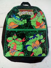 vintage ancien sac a dos tortue ninja dessin animée