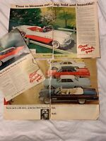 1950'S 60'S POST / LIFE MAGAZINE ADVERTISEMENT lot CAR ADS 64 BUICK ADS AMAZING