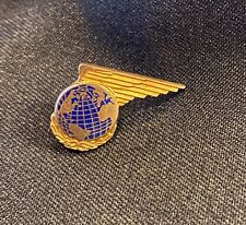VINTAGE PAN AM AIRLINES 10k GOLD SERVICE EMPLOYEE PIN
