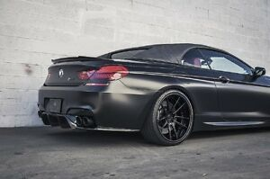 Painted Process Trunk Spoiler for BMW F12 Convertible V Type 2011-2015