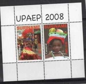 UPAEP - SURINAME, 2008, BLOCK, MNH
