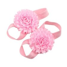 Pink Child Folded Ribbon Belt M4G6