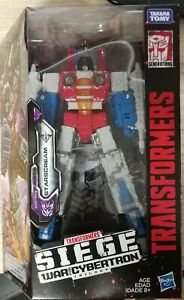Transformers Siege War for Cybertron STARSCREAM (Voyager Class)
