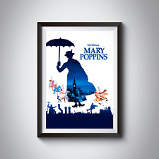 MARY POPPINS - MUSICAL POSTERS - A4 - A3 - Home / Office / Wall Art 170GSM