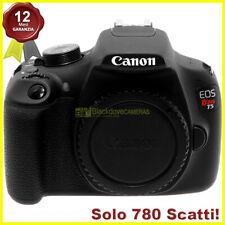 Fotocamera digitale Canon EOS T5 (1200D) body reflex. Macchina fotografica.