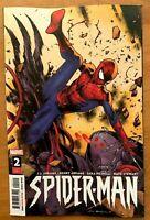 SPIDER-MAN #2 Olivier Coipel Main Cover A 1st Print J.J. Abrahms 2019 NM