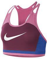 Nike Women's Swoosh Logo Racerback Medium-Impact Sports Bra, Size XS,NwT
