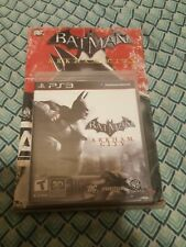 Batman: Arkham City (Sony PlayStation 3 PS3, 2011) with poster sealed