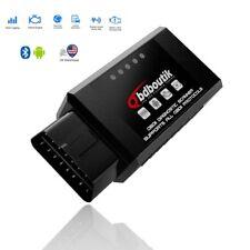 ELM327 Bluetooth V1.5 OBD2 Diagnostic Scanner For Android OBDII Code Reader US