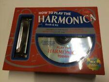 How to Play The Harmonica Book and Kit Harp David 1603113703
