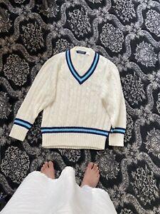 mens cricket sweater