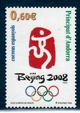 ANDORRA ESPAÑOLA 2008 358 Olimpiada de Beijing 2008 1v,