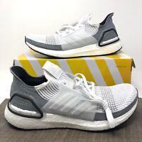 Adidas Ultra Boost 19 (B75880) Shoes, Cloud White Grey - Women's Size 11 NWB