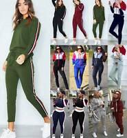 Women Tracksuit Hoodies Sweatshirt Pants Sets Joggers Sports Casual Sweat Suits