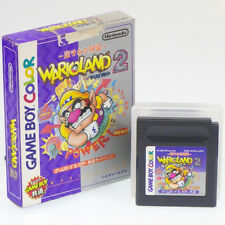 Wario Land 2 GB Game Boy Japan Import Nintendo SUPER MARIO Boxed Non-Manual