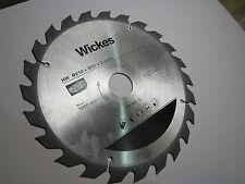 Wickes hw 210 x 30 x 2.4mm scie circulaire bois lame de coupe