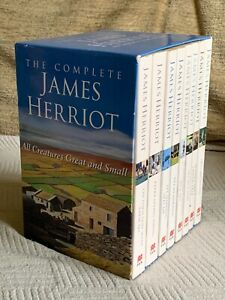 The Complete James Herriot Book Collection All Creatures Great And Small Box Set