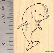 Beluga Whale Rubber Stamp, Marine Wildlife J15608