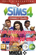 Les Sims 4 Chiens et Chats - Téléchargement PC - EA Origin DLC Addon Code - FR