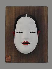 Keramik-Antiquitäten & -Kunst-Wandmasken mit Frauen-Motiv