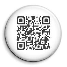QR code personnalisé passe sanitaire europe restaurant Badge 38mm Button Pin