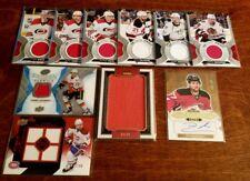 (12 card) 2008-2018 NHL Hockey Autograph & Memorabilia LOT! Gaudreau Dionne +++