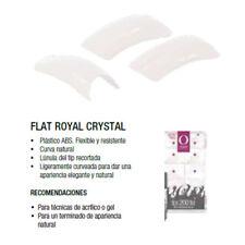 Organic Nails 'TIP FLAT ROYAL CRYSTAL ORG CAJA CON 200 SURTIDO