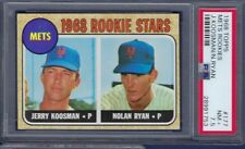1968 TOPPS NO. 177 NOLAN RYAN ROOKIE CARD PSA 7.5 NEAR MINT PLUS