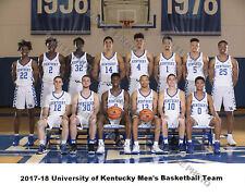 2017-2018 KENTUCKY WILDCATS 8X10 TEAM UNSIGNED PHOTO PICTURE POSTER