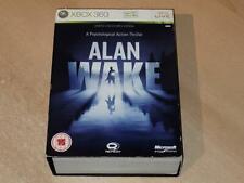 Alan Wake Limited Collector's Edition Xbox 360 UK PAL ** Spielen auf Xbox One **