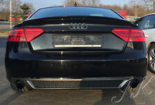 AUDI A5 Sportback Facelift S-Line Look - Rear Diffuser Lip Bumper Spoiler Add On
