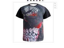 Star Wars T Shirt Kylo Ren 3D The Force Awakens Tops w Troopers - Aus large