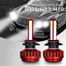 HB3 HB10 9005 9145 4-SIDE 80W 6000K LED Car Headlight High Low Globes Bulbs Beam