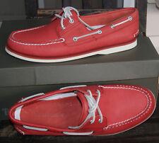 Scarpe da uomo rossi Timberland 100% pelle   Acquisti Online