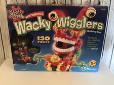 Wacky Wigglers Motorized Building Set Learning Resources INCOMPLETE. 116 Pieces