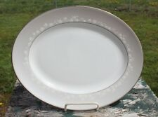 "Lenox BELLINA Platinum Oval Serving Platter 13"" New"
