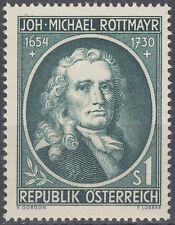 Österreich Austria 1954 ** Mi.1007 Rottmayr von Rosenbrunn Maler Painter