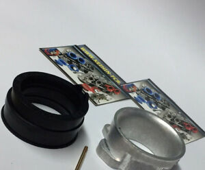 ** BILLET CNC ** Keihin FCR-MX Adapter kit + Boot Suzuki LTZ 400 LTZ400 ATV DVX