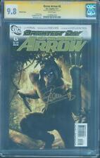 Green Arrow 6 CGC SS 9.8 Stephen Amell Sign Alex Garner Variant Top 1 TV Show