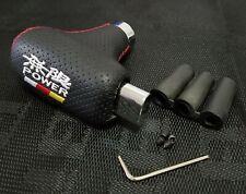 Mugen Power Universal Black Leather Automatic Transmission Shift Knob For Honda
