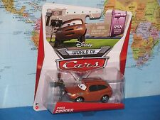 DISNEY WORLD OF CARS CORA COPPER #6/8 RSN RACING SPORTS NETWORK BRAND NEW & RARE