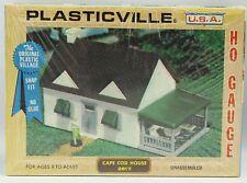 NEW Bachmann HO Plasticville USA CAPE COD HOUSE #2617 Building Kit *Ships Quick