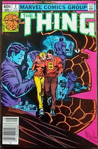 The Thing #2 VF/NM 9.0 (Marvel 1983)